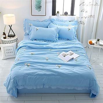 Amazon.com: TTXST colcha de verano para cama de matrimonio ...