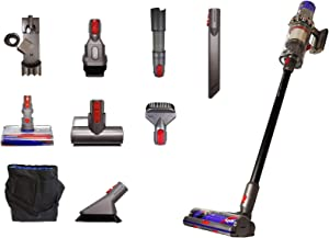 Dyson Cyclone V10 Absolute+ with 11 Tools Including Torque Drive Cleaner Head, Lightweight Cordless Stick Vacuum Cleaner