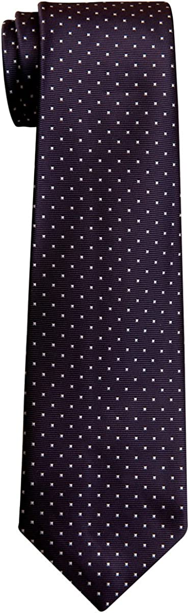 Various Colors 8-10 years Retreez Pin Dots Woven Microfiber Boys Tie