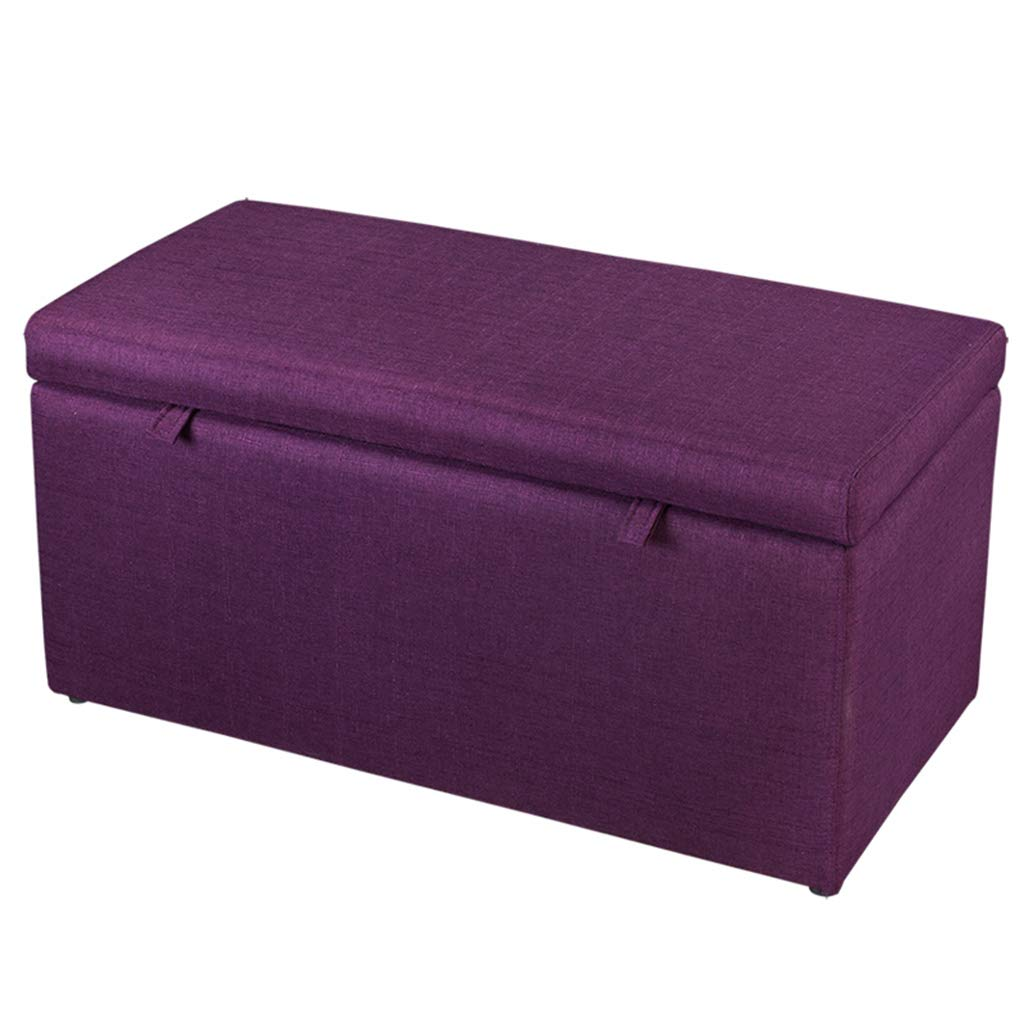 007 35.43×16.92×17.71  TYJY Fabric Storage Stool, Small Sofa Bench, Bedside Stool, shoes Bench (color    002, Size   16.92×16.92×17.71 )