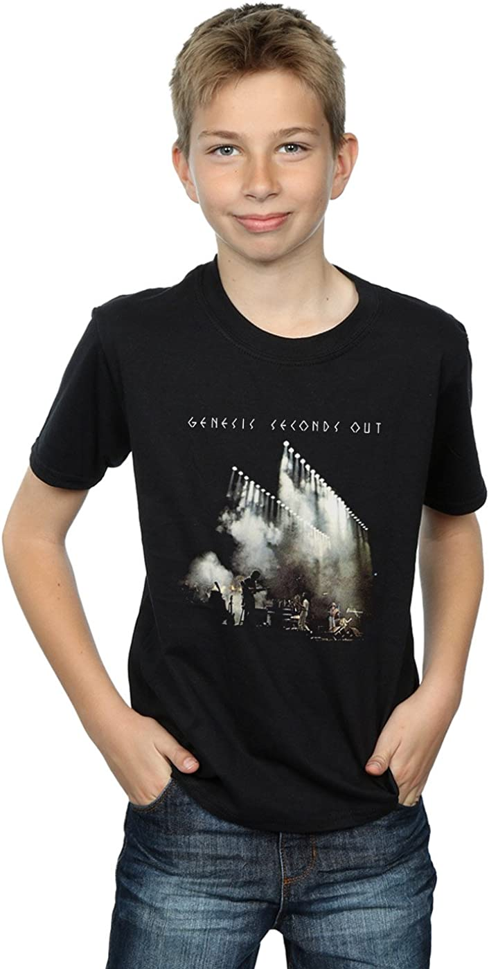 ABSOLUTECULT Genesis Boys Seconds Out T-Shirt