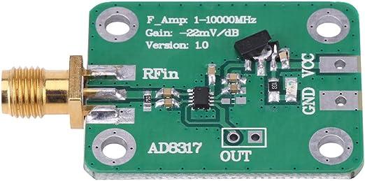 Akozon 1m 10000mhz Ad8317 Radiofrequenz Logarithmische Detektor Leistungsmesser Messkraft 55dbm Zu 0dbm Beleuchtung