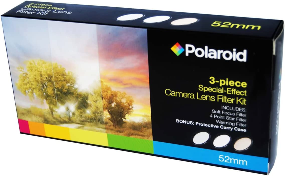 DMC-GF2 DMC-GH3 DMC-GH1 DMC-GH4 DMC-GF1 DMC-G3 DMC-GF3 DMC-G2 For The Panasonic Lumix DMC-G3 DMC-G1 DMC-G10 Soft Focus, Revolving 4 Point Star, Warming DMC-GF5, DMC-GH2 DMC-L10 DMC-GF3 Polaroid Optics 3 Piece Special Effect Lens Filter Kit