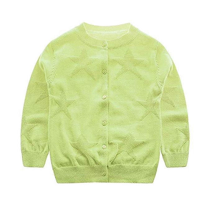 Amazon.com: jangannsa bebé niños Jersey de punto de algodón ...