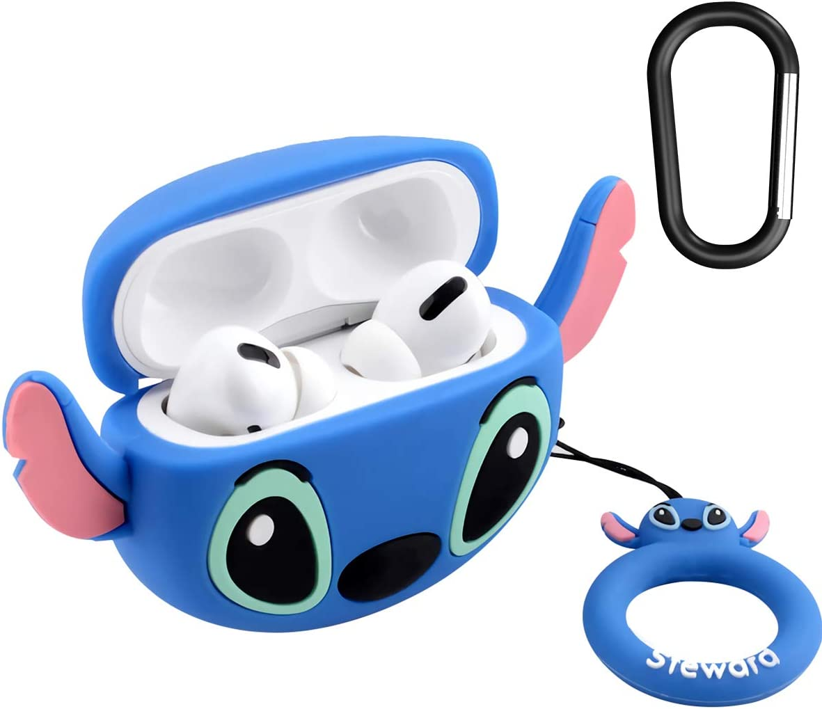 Amazon Com Airpods Pro Case Soft Silicone Shockproof Cover For