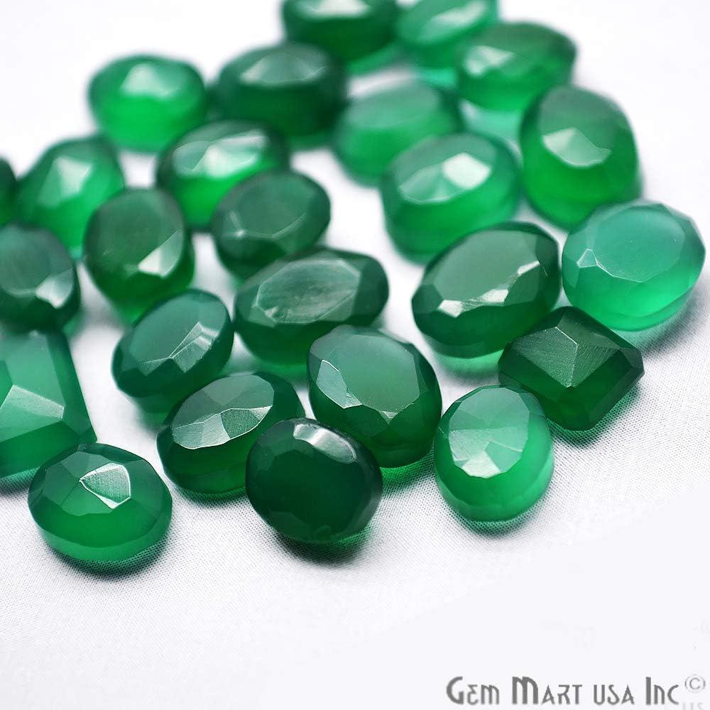 Green Stone Go-60001 Green Onyx Stone Mix Shape Stones Gemstones 1000 CTS Green Onyx Gemstones GemMartUSA