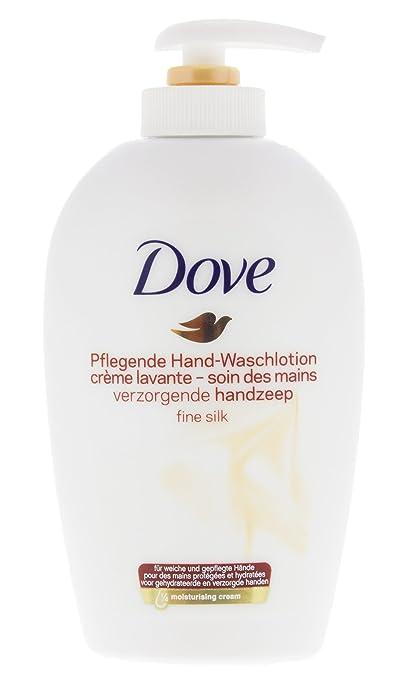 3 x Dove Body fina seda lavar Beauty Cream Wash con la orquídea blanca dispensador de