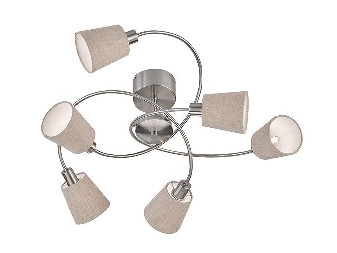 6 De Luces LED Lámpara de techo Ordenador con pantallas de ...