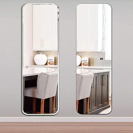 Specchio da Terra- ⛪LDJ Specchio a Specchio per Camera da Letto con ...