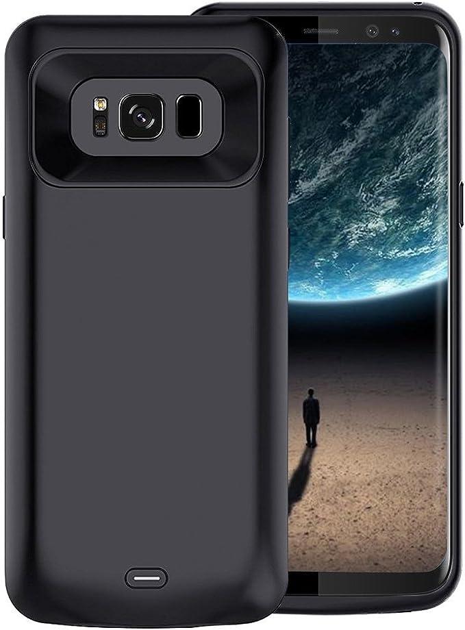 para Samsung Galaxy S8 Funda Cargador, Funda Slim batería Extended ...