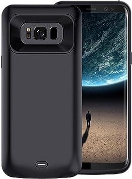 Becho - Funda para Samsung Galaxy S8 (5000 mAh, batería extendida), color negro: Amazon.es: Electrónica