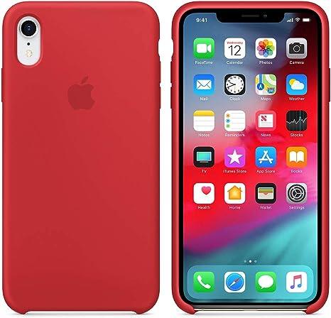 """Imagen deAIWE-ES Funda para iPhone XR 6.1"""" Funda Silicona Líquida con Protección contra Caídas Anti-Rasguño para iPhone XR (iPhone XR 6.1"""", Rojo)"""