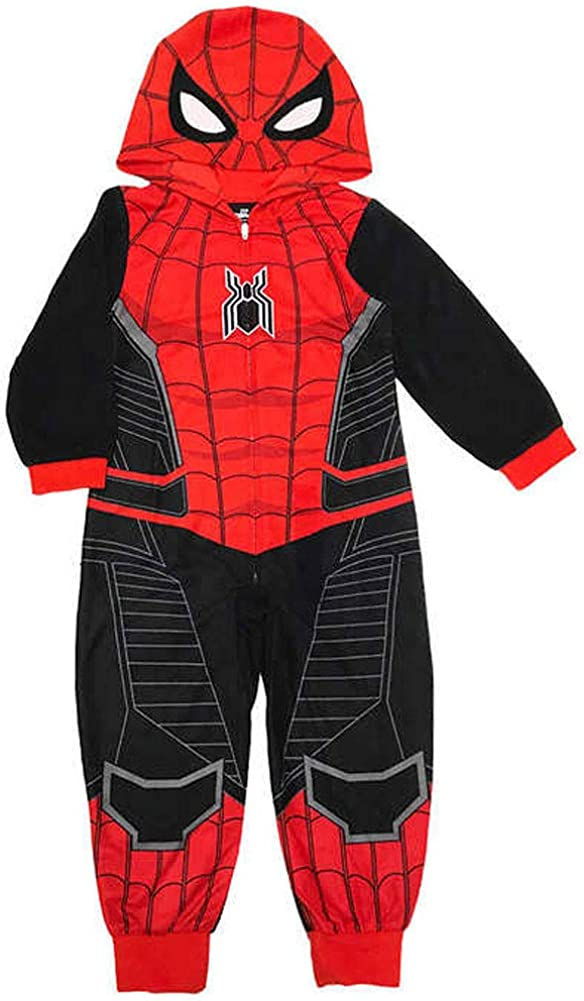 Spider-Man Far From Home Boys Union Suit Pajama