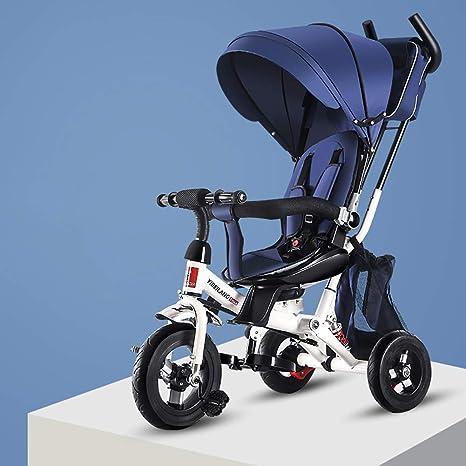 CNMMGL Bicicleta de Pedal de Tres Ruedas para automóvil para niños ...
