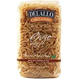 Delallo Organic Whole Wheat Orzo Pasta, 17 Ounce -- 16 per case.