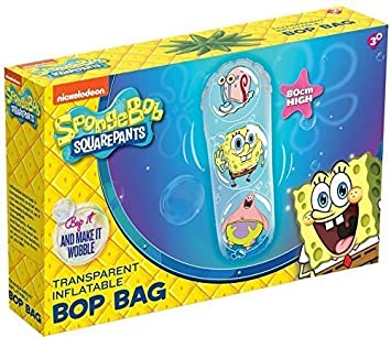 Bob Esponja 80 cm transparente Inflatable Bop Bag por RMS ...