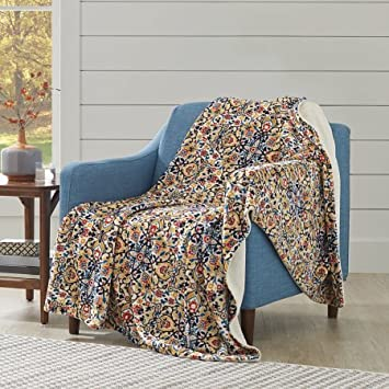 Amazon Better Homes And Gardens Oversized Medallion Polyester Simple Better Homes And Gardens Throw Blanket