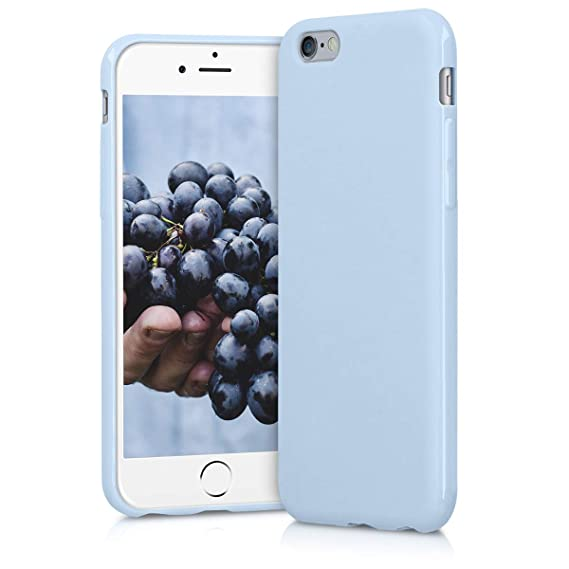 innovative design 6fbb0 c479f Amazon.com: kwmobile TPU Silicone Case for Apple iPhone 6 / 6S ...