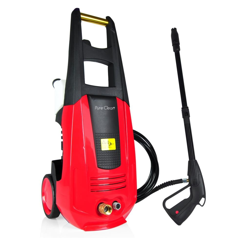SereneLife Pressure Washer - Electric Outdoor Power Washer with High-Pressure Nozzle Wand