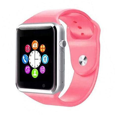 Amazon.com: Bluetooth Smart Watch Sport Pedometer with Sim ...