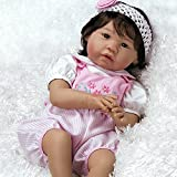 Paradise Galleries Real Life Asian Baby Girl Doll Sakura - Vinyl 22 inch in GentleTouch Vinyl & Weighted Body