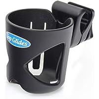 Wallfire portavasos universal para cochecito portavasos para beber no t/óxico estante para biberones antideslizante ajustable para cochecito de beb/é//silla de paseo bicicleta silla de ruedas
