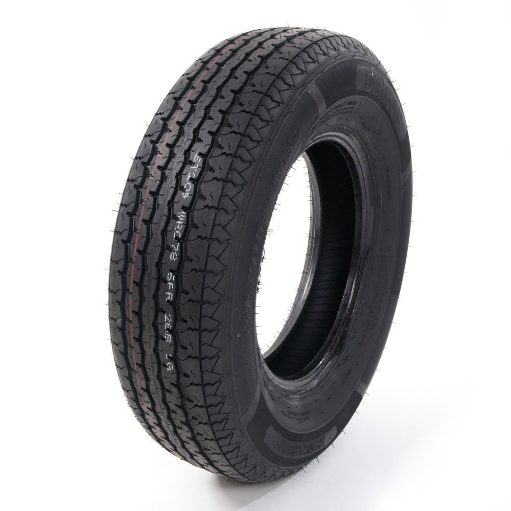 Set of 4 ST205/75R14 Radial Trailer Tires 6 Ply Load Range C 205 75 14 by Roadstar (Image #7)