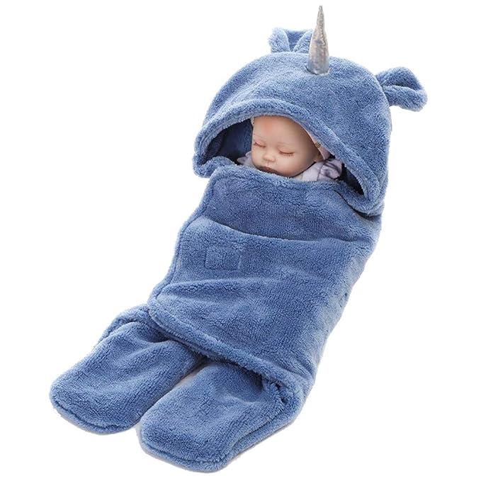 Wetry - Unicornio Bebé Saco de Dormir Manta Bebe Fotografia 65 * 75CM: Amazon.es: Ropa y accesorios