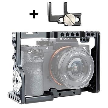 NICEYRIG A7/A7S/A7R cámara Jaula con Bloqueo de Cable HDMI para ...