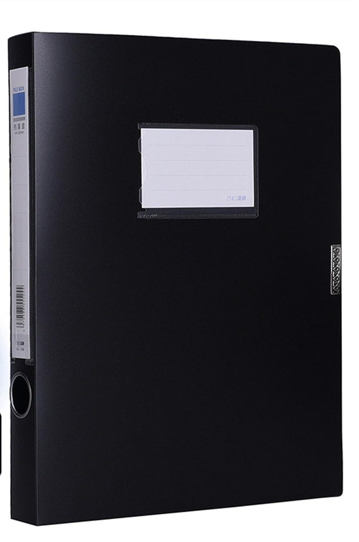 Kunststoff Etiketten A4 Ordner Ordner Ordner Büromaterial (5er-Pack), schwarz B07C1NVNGX   Up-to-date Styling  338d3b