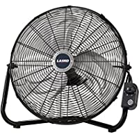 Lasko 2264QM 20-Inch Max Performance High Velocity Floor/Wall mount Fan, Black (2, Black)