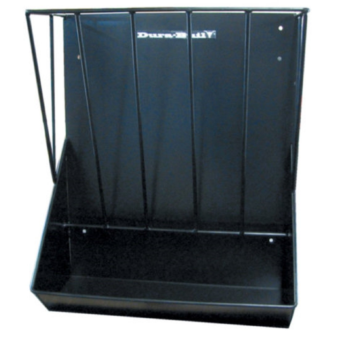 DURABUILT Combination 2-1 Hay and Grain Feeder - 16-gauge steel, fence or wall mount - 2' W x 1' D x 2.5' H