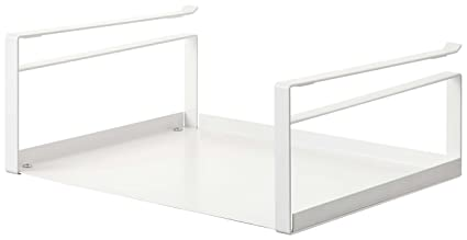 Charmant YAMAZAKI Home 2443 Plate Under Shelf Storage Rack, White