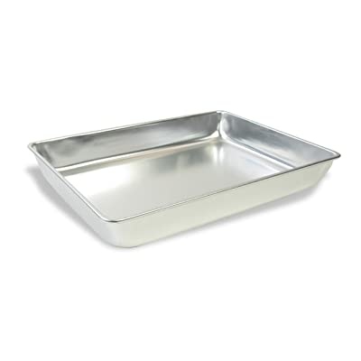 "American Educational Aluminum Large Dissecting Pan without Wax, 13-1/8"" Length x 9-3/8"" Width x 2-1/4"" Height: Industrial & Scientific"