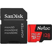 Cartão Memória Micro SD 128GB Extreme Pro Netac e ADPT