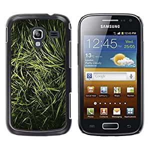 LECELL--Funda protectora / Cubierta / Piel For Samsung Galaxy Ace 2 I8160 Ace II X S7560M -- Grass Nature Vignette Photo --