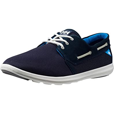 Helly Hansen Men's Lillesand Fashion Sneaker, Navy/Racer Blue/Off White, 8