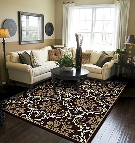 Modern Area Rugs Black 5x8 Rugs for Living Room 5x7 Clearance