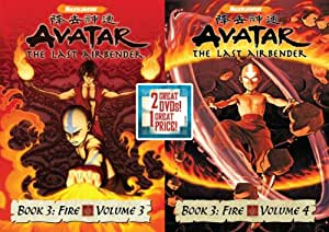 Avatar The Last Airbender Double Pack: Book 3 V 3 & Book 3 V 4 (Includes: Avatar: The Last Airbender - Book 3: Fire Volume 3, Avatar: The Last Airbender - Book 3: Fire Volume 4)