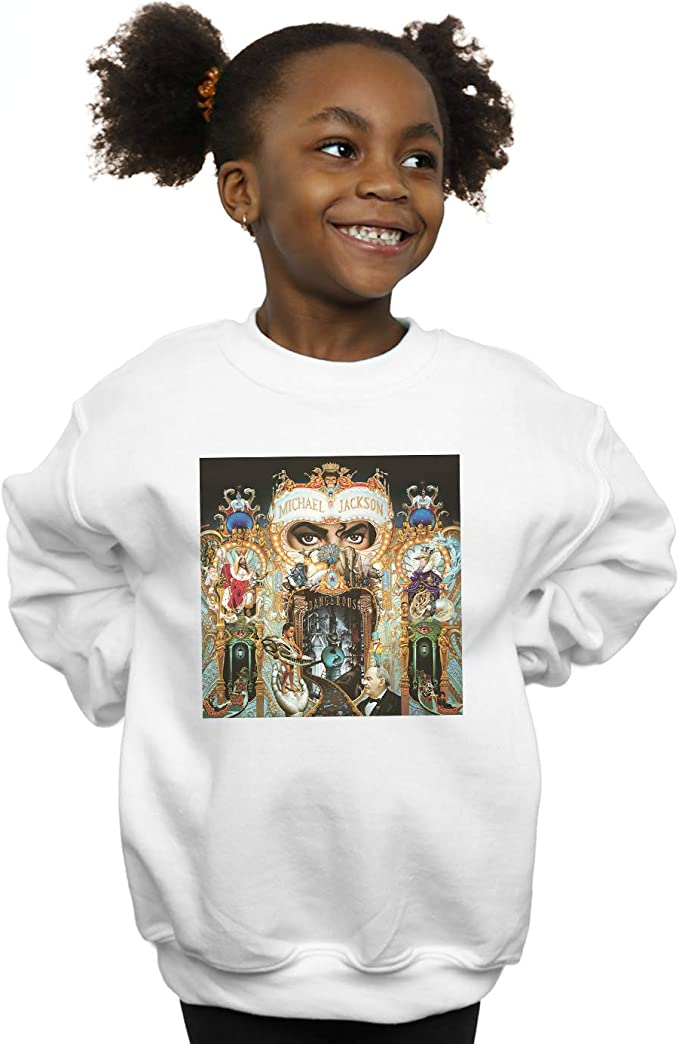 Absolute Cult Michael Jackson Niñas Dangerous Album Cover Camisa De Entrenamiento: Amazon.es: Ropa y accesorios