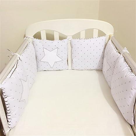 Freahap Bettumrandung Nest Kopfschutz Nestchen Babybett 30*30cm Hengfey
