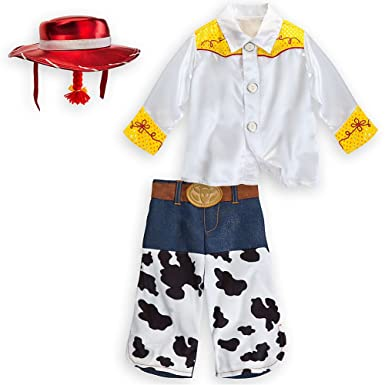 disney store toy story jessie cowgirl halloween costume toddler size 2t - Toddler Jessie Halloween Costume