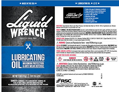 Liquid Wrench L212-12PK Lubricating Oil - 11 oz, (Case of 12) by Liquid Wrench (Image #2)