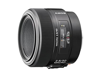 Sony 50mm f/2 8 Macro Lens for Sony Alpha Digital SLR Camera