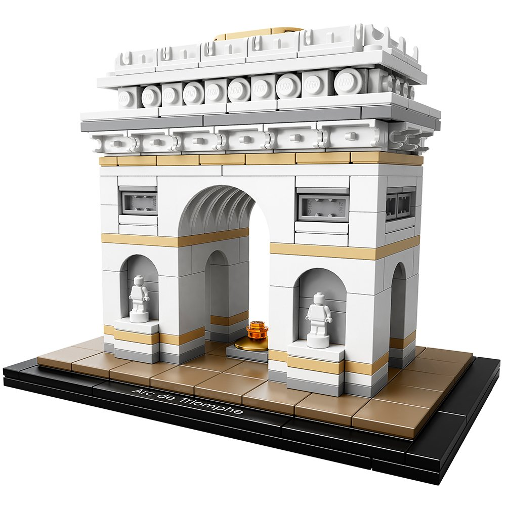 LEGO Architecture Arc De Triomphe Building Kit, 386 Piece 6174069