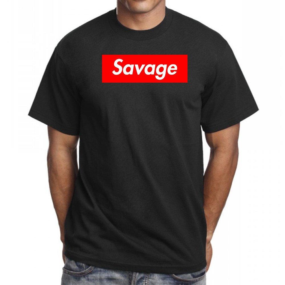 21 Savage Box Logo T Shirt Savage Hip Hop T Shirt Rap 6073