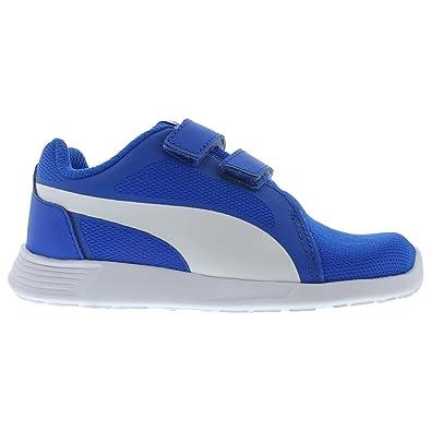 f367c5fbb49b PUMA Boys  ST Trainer EVO V INF Sneaker Electric Blue Lemonade 4 M US  Toddler