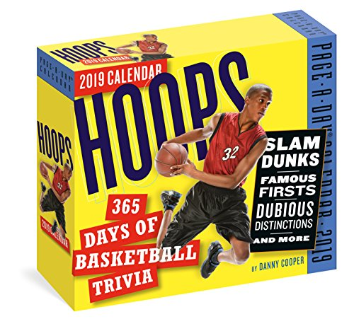 Hoops: 365 Days of Basketball Trivia! Page-A-Day Calendar 2019