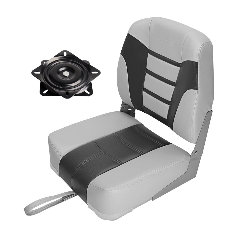 MSC Folded Boat Seat (AB-Light Gray/Dark Gray) by MSC