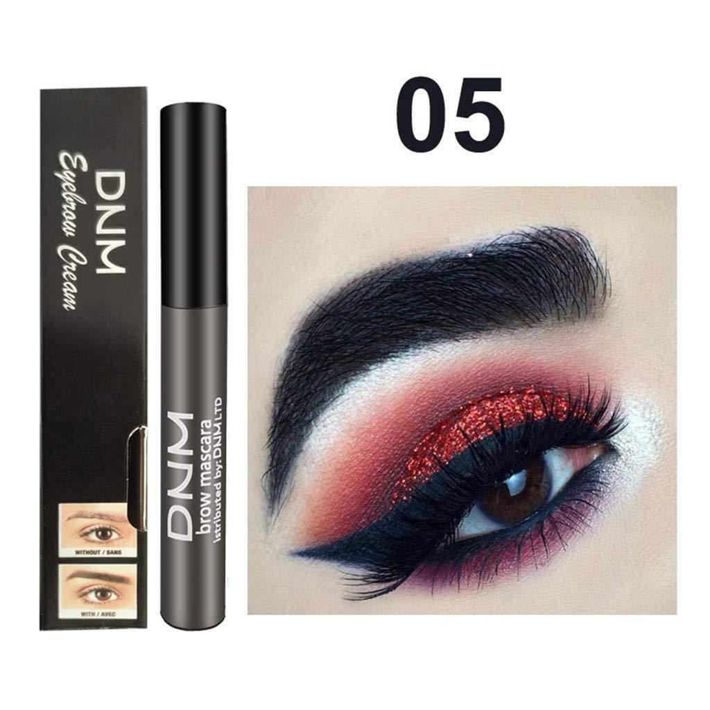 Eyebrow Dye Gel Waterproof Makeup for Eyebrow Long Lasting Tint Dye Cream,Waterproof,Smudge-Proof (Multicolor, 05)